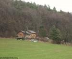 takhle vypadá domek v podzimní krajině