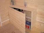 skříňka na akumulaci s odvětráním ven