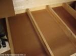 dřevovláknité desky 18 mm mezi podlahovými fošnami