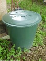 bečka na dovoz pilin z pily a skladování